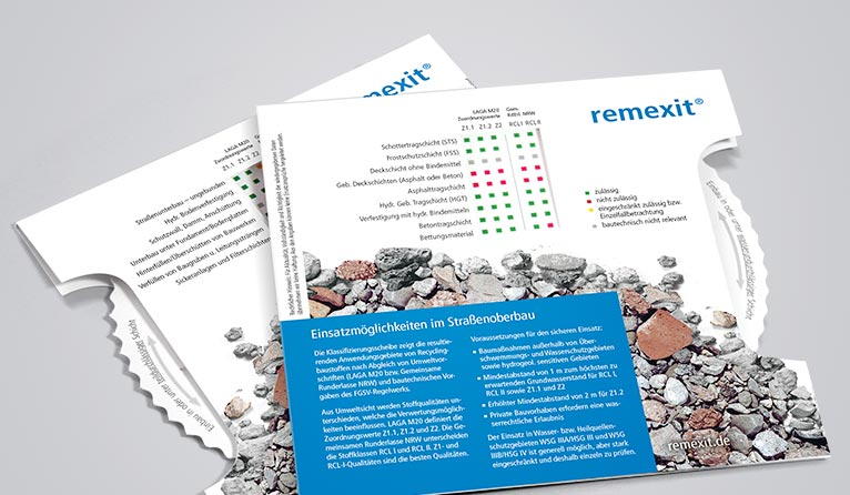 Examine the options of recycled aggregates in German construction projects.