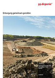 Cooperation model for landfill sites pp.landfill explained in brochure
