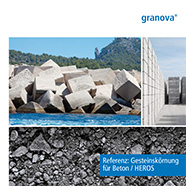 Reference for granova IBA use in concrete products