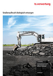 Tar contaminated road construction material: brochure explains reuse and recycling