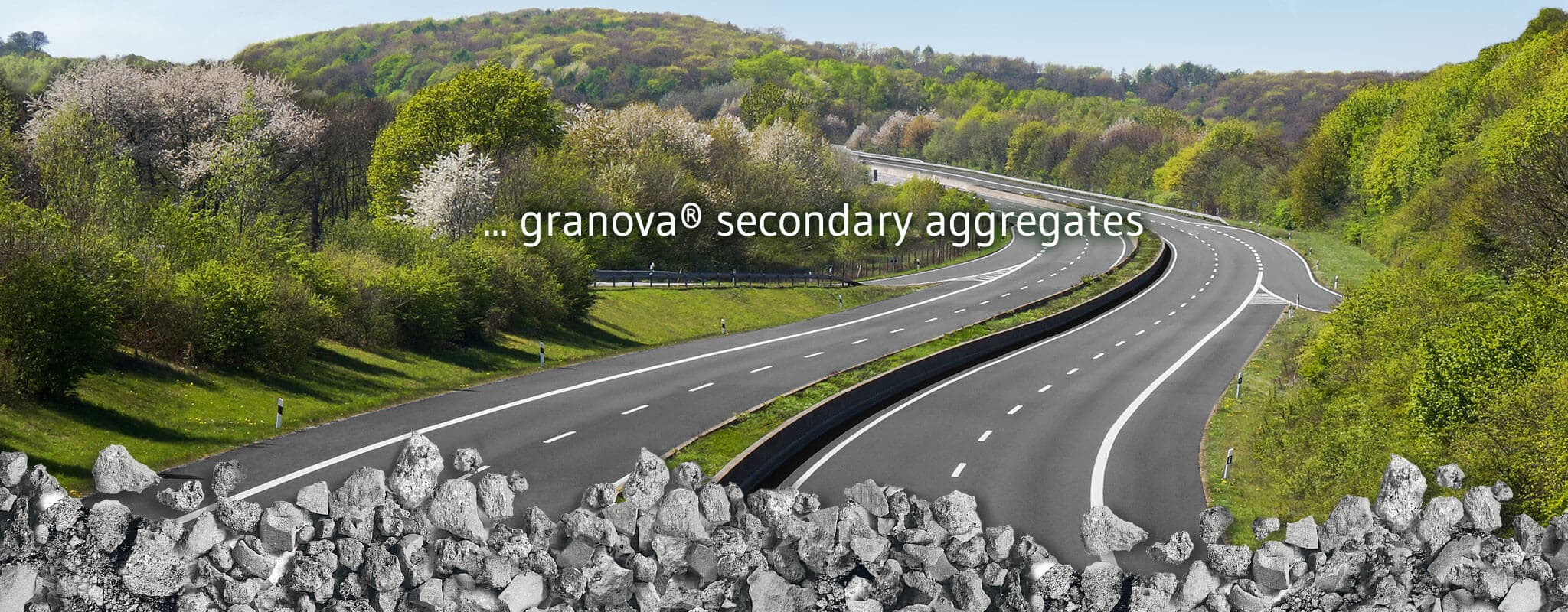 IBA from energy-from-waste plants is the base for granova® secondary aggregates