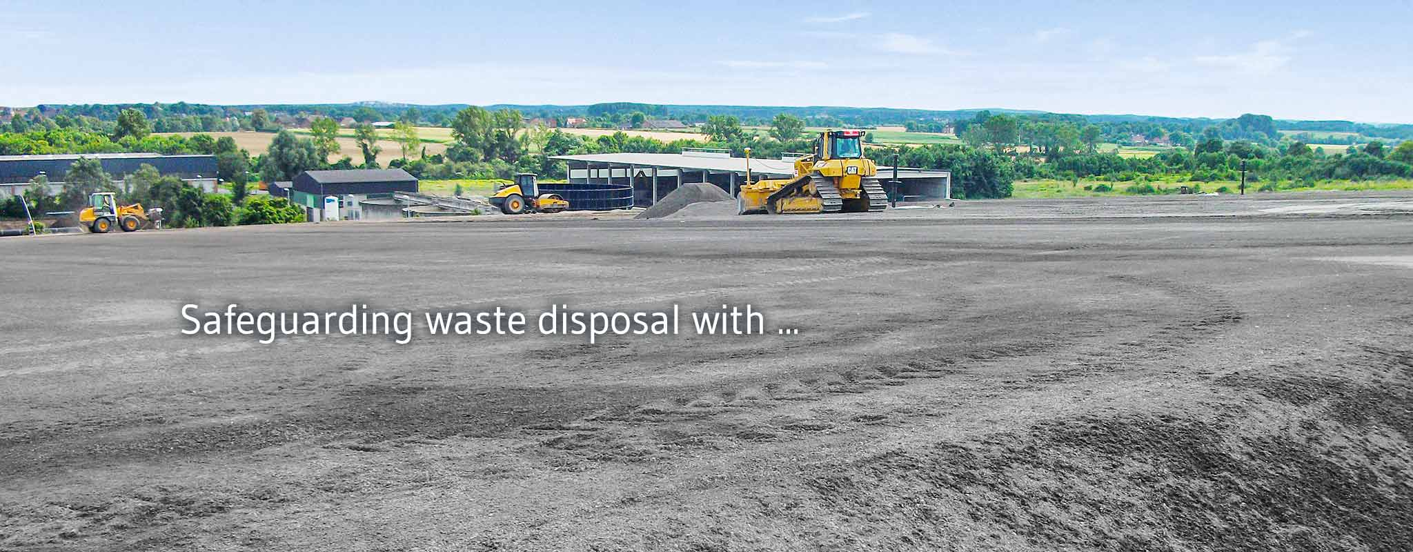 Landfill site management in cooperation with pp.landfill